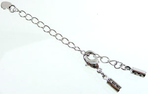 Code: D07252    --- Chaine extension metal complete 80mm.---